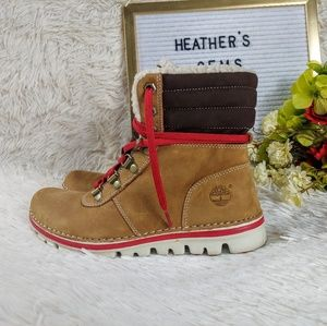 "Timberland® Leather Ortholite Conant 6"" Wheat Boot"